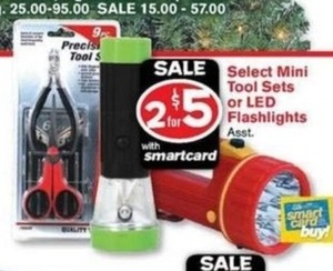 Select Mini Tool Sets w/ Smartcard