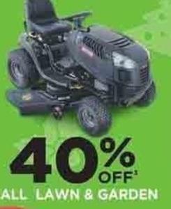 All Lawn & Garden