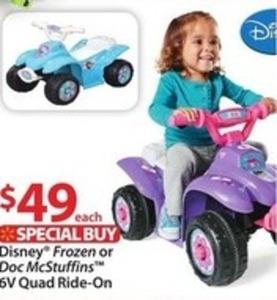 Doc McStuffins 6V Quad Ride-On