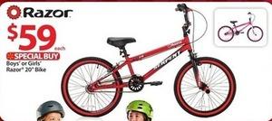 "Razor Serpent Boys' 20"" Bike"