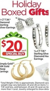 1/7 ct. tw. Diamond Sterling Silver Earrings