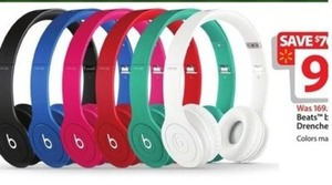 Beat by Dr. Dre Drenched Solo Headphones