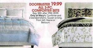 All 3pc Comforter Sets