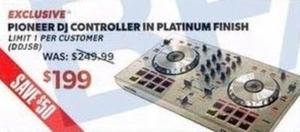 Pioneer DJ Controller in Platinum
