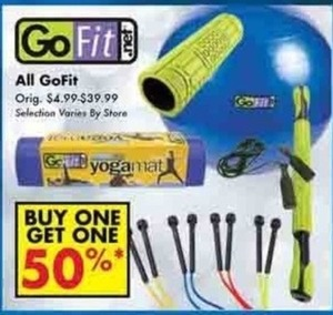 All GoFit Items