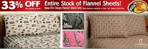 Entire Stock Flannel Sheets
