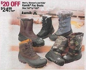 Kamik Pac Kids' Boots