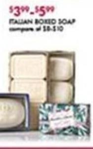 Italian Boxed Soap