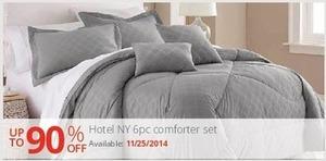 Hotel NY 6-PC Comforter Set (Starts 11/25)