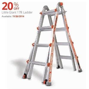Little Giant 17' Ladder (Starts 11/26/14)