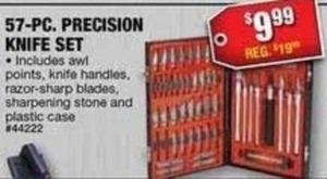 57-pc. Precision Knife Set