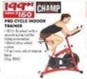 Champ Pro Cycle Indoor Trainer