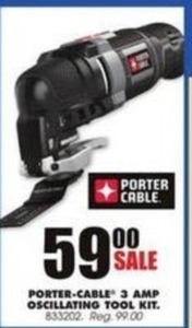 Porter Cable 3 AMP Oscillating Tool Kit