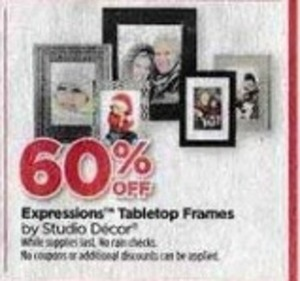 Studio Decor Expressions Tabletop Frames