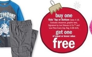 Select Kids' Top or Bottoms