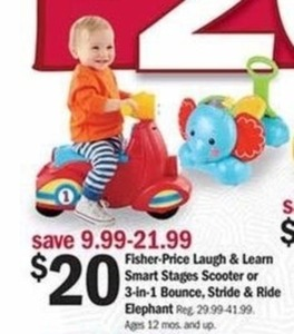 Select Fisher-Price Baby Ride-On Toys