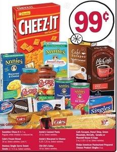 Sunshine Cheez-It, Hostess Sweet Goods & More