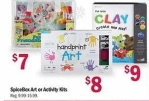 SpiceBox Art or Activity Kits