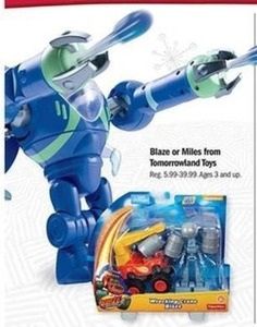 Blaze or Miles From Tomorrowland Toys