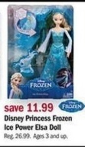 Disney Princess Frozen Ice Power Elsa Doll
