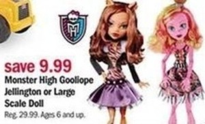 Monster High Goolopie Jellington or Large Scale Doll