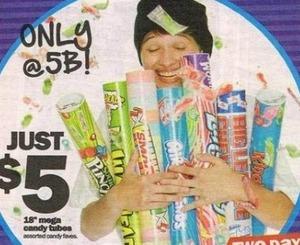 """18"""" Mega Candy Tubes"""