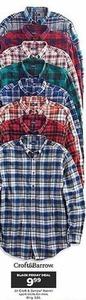 All Men's Croft & Barrow Flannel Sport Shirts