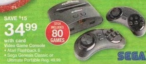 Assorted Video Game Console w/ Card