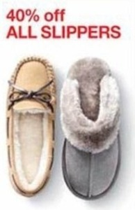 40% Off All Slippers