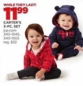 Toddlers' Carter's 3-pc. Set