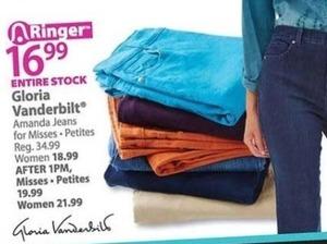Gloria Vanderbuilt Women's Jeans