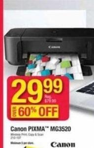 Cannon Pixma All in One Printer