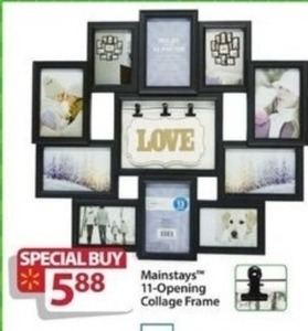Mainstays 11-Opening Collage Frame