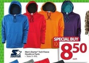 Men's Starter Tech Fleece Hoodie or Pants