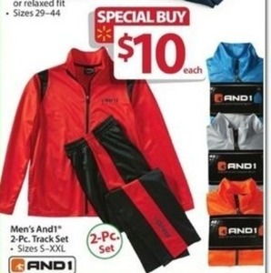 Men's And1 2-Pc Track Set