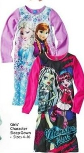 Girls' Character Sleep Gown