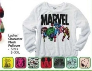 Ladies' Character Plus Pullover