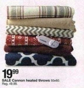 Cannon Heated Throws