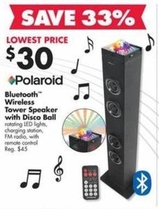 Bluetooth Wireless Towel Speaker with Disco Ball