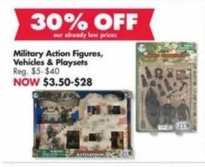 Military Action Figures, Vehicles and Playsets