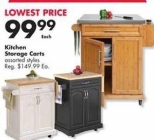 Kitchen Storage Carts