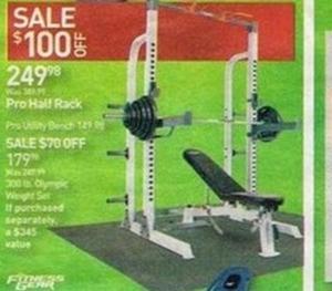 Fitness Gear Pro Half Rack