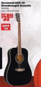 Savannah SGD-10 Dreadnought Acoustic
