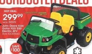 John Deere Kids' Gator XUV 550 Electric ATV
