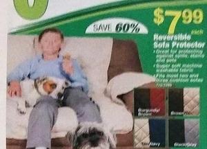 Reversible Sofa Protector