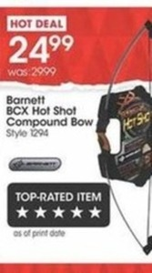 Barnett BCX Hot Shot Compound Bow