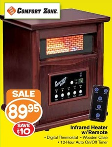 Infrared Heater w/ Remote