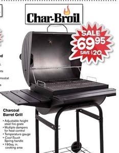 Char-Broil Charcoal Barrel Grill