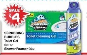 Scrubbing Bubbles Toilet Gel or Shower Foam