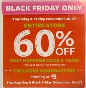 Entire Store 11/26-11/27